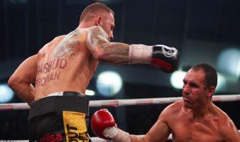 Szeremeta znokautował Diaza, obronił pas EBU