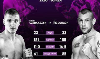 KBN6: Fiodor Czerkaszyn vs JJ McDonagh – pierwsze zestawienie na gali!