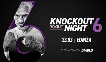 Bilety na Knockout Boxing Night 6 w sprzedaży!
