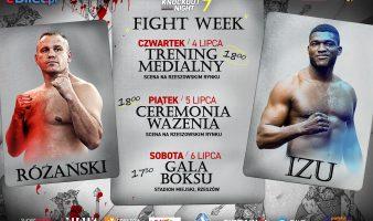 KBN7: Fightweek przed galą w Rzeszowie