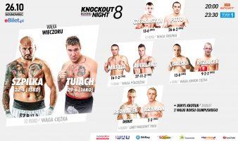 KBN8: Karta walk przed galą w Sosnowcu!